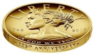New Black Lady Liberty Coin