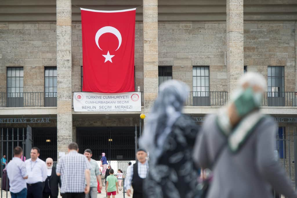 Start of the Turkish Presidential election in Germany