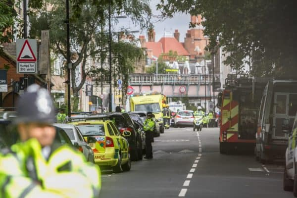 Blast in London Underground Declared Terrorist Incident