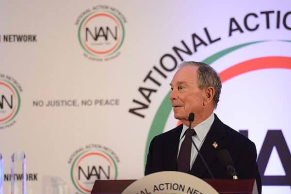 Michael Bloomberg at National Action Network