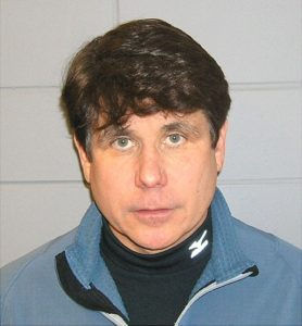 Mug shot of Rod Blagojevich