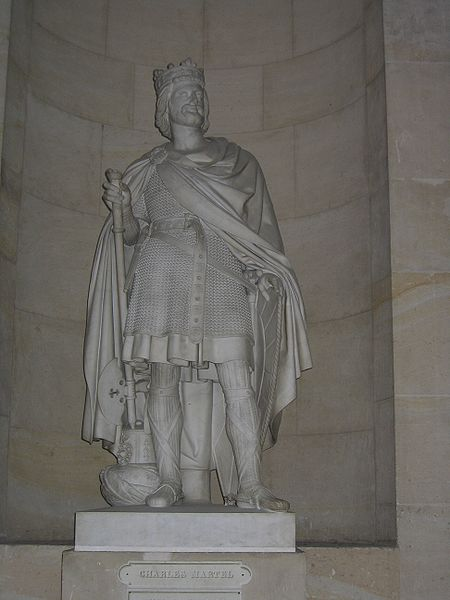 Charles Martel at the Palace of Versailles